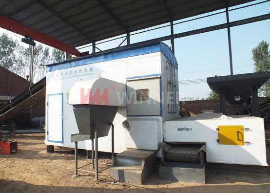 10-60 TPD Municipal Solid Waste Sorting Machine
